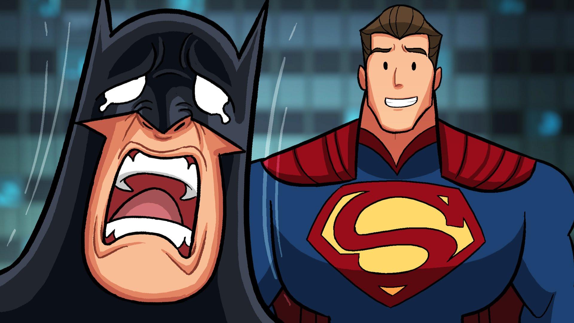 batman vs superman parodies