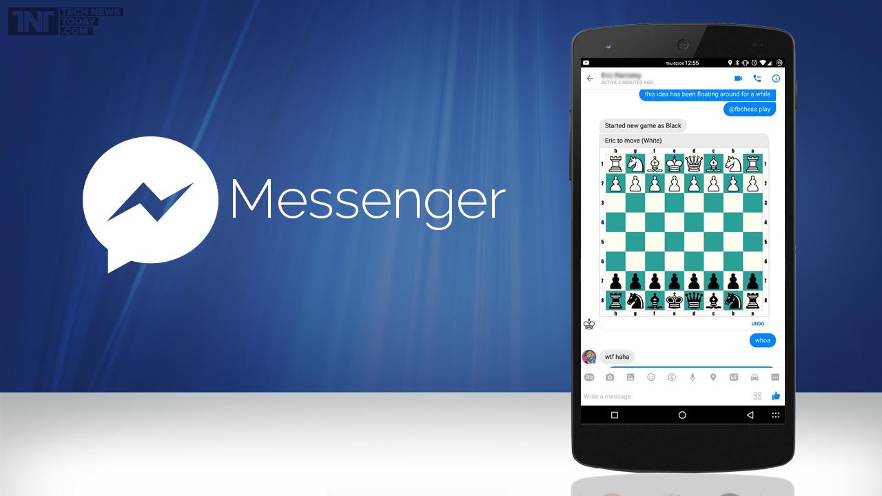 play chess on fb messenger