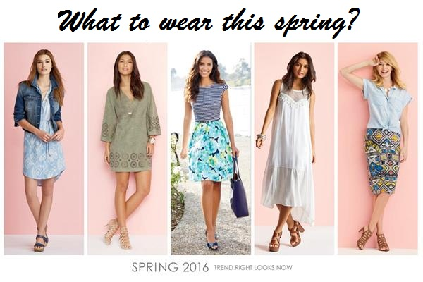 what are spring 2016 fashion trends spring break