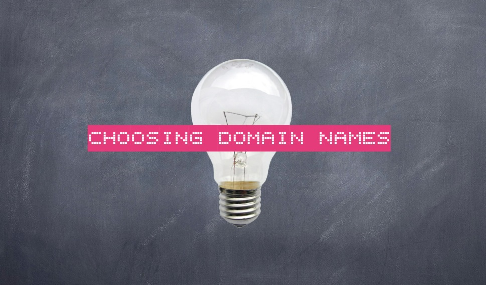 how to choose a best domain name