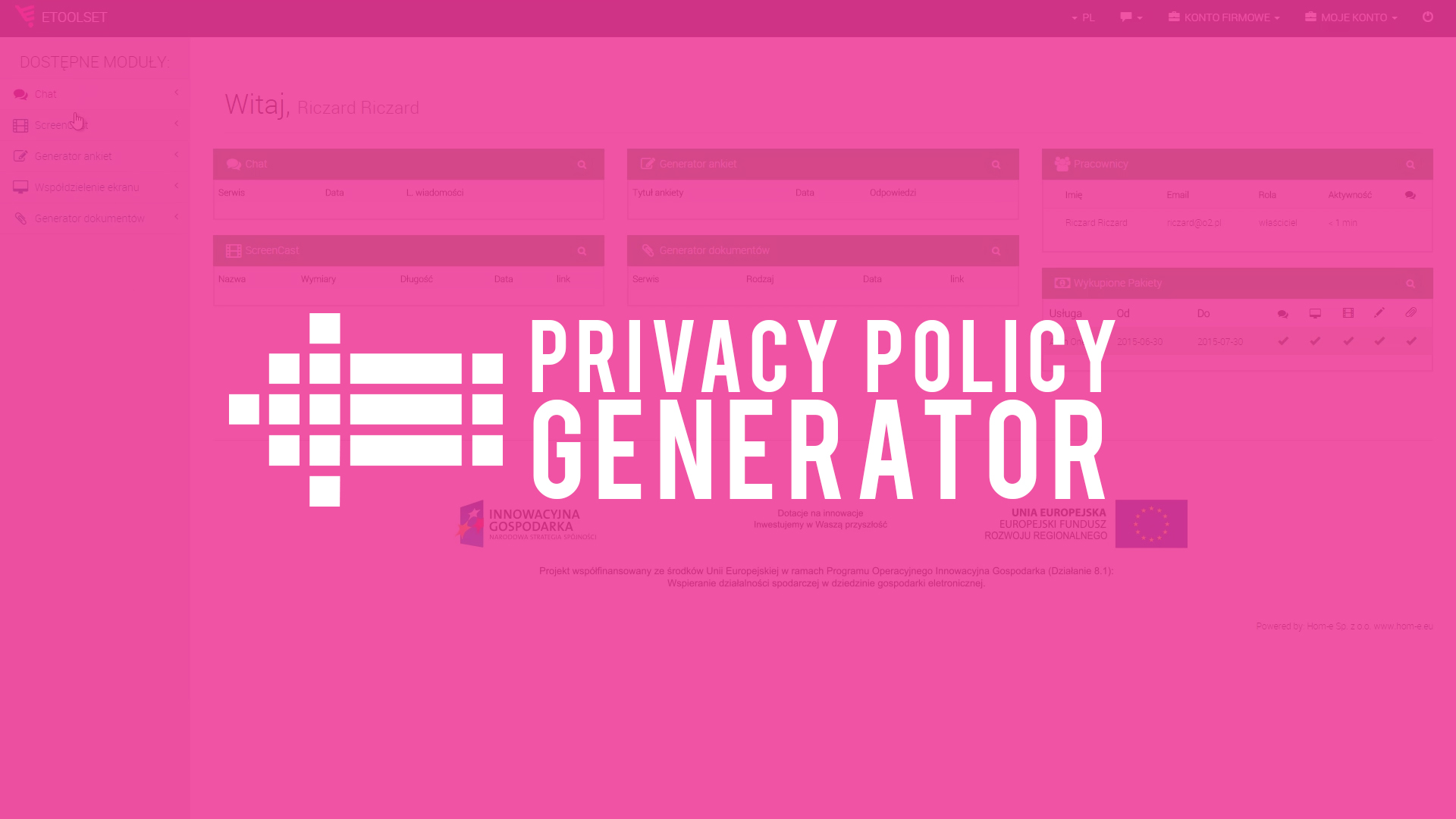 privacy policy generator sites