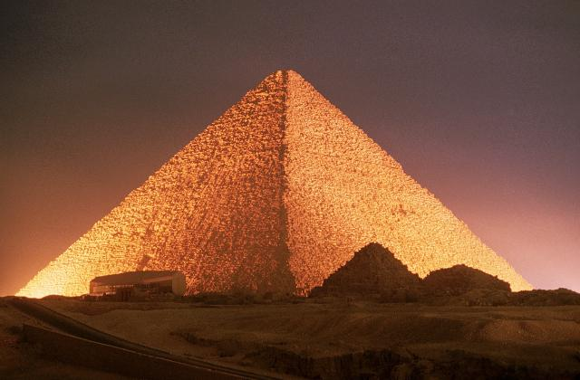facts abou great pyramid of gaza