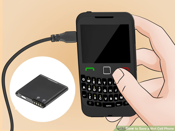 what to do if your phone gets wet and wont turn on (11)