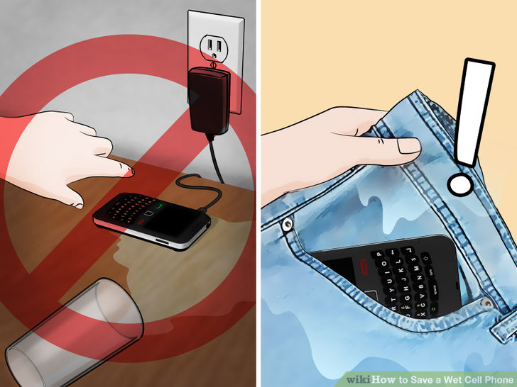 what to do if your phone gets wet and wont turn on (2)