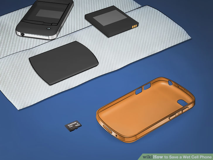 what to do if your phone gets wet and wont turn on (5)