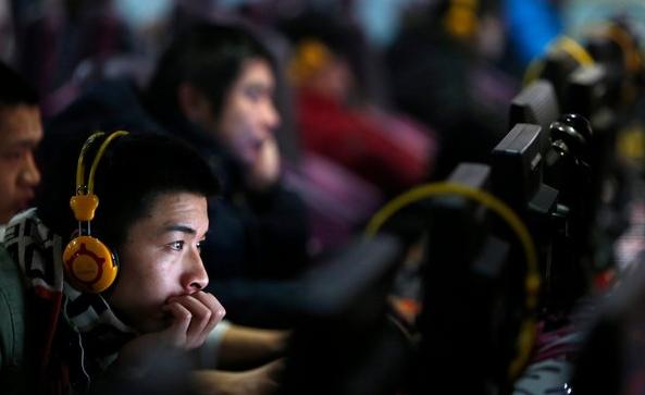 chinese use internet