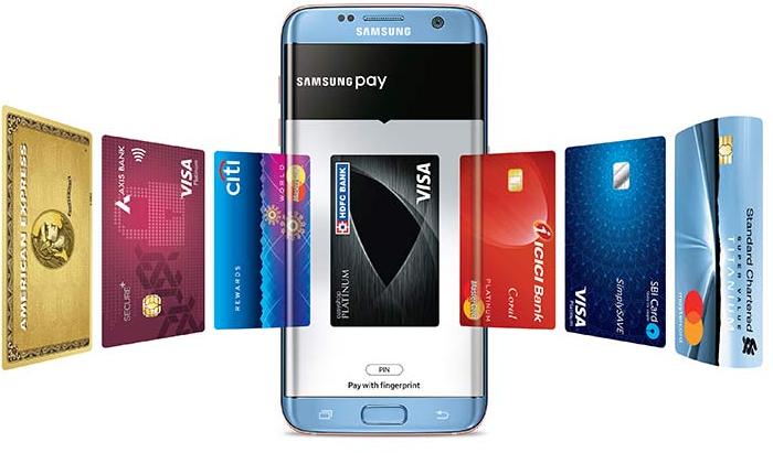 samsung pay cards