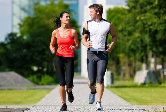 jogging belly fat 1
