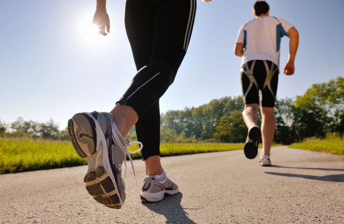 jogging love handles
